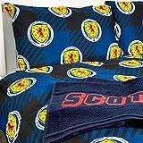 SCOTTISH FA Single Duvet Set Officially Licensed- Scotland Football Duvet set - Tartan Army Official