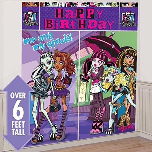 (Amscan Monster High Riesen Geburtstags Wand Dekorations Poster)