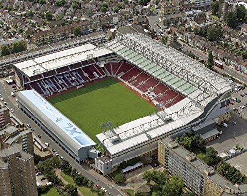 Mauspad mit Antenne Bilder von Upton Park, Heimat von West Ham United FC