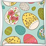 Huevos Multicolor Decoración del hogar Throw Sofá Coche Cojín Funda de almohada