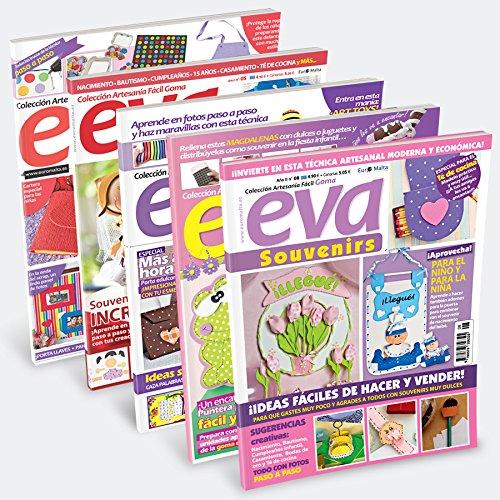 Pack Oferta 6 revistas de Goma Eva
