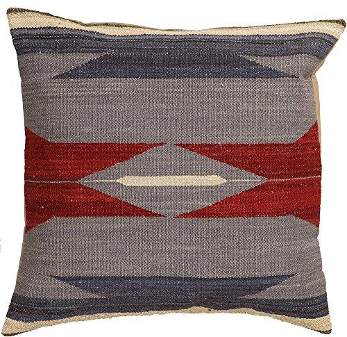Vente, faite à la main authentique Kilim Housse de coussin Taie d'oreiller style vintage, 58 cm x 58 cm/55,9 cm/55,9 cm (1347) Liquidation de stock