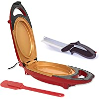 Minute Cooker + Coupe Express – Cuiseur électrique avec surface anti-adhésive en céramique renforcée