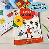 personalisierbar Arty Maus Worte Aktivität book-soft Cover