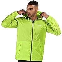 Regatta Men's Pack-it Iii' Lightweight Breathable Taped Seams Packaway Hooded Jackets Waterproof Shell