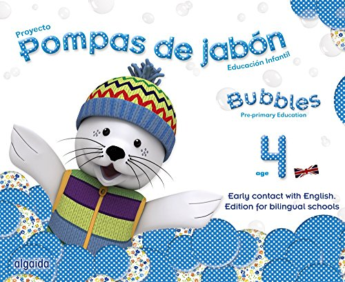Pompas de jabón. Bubbles age 4. Pre-primary Education - 9788490670644