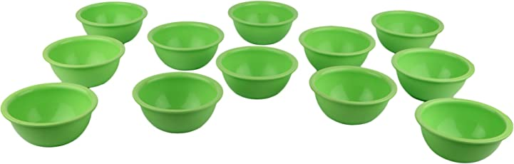 Homray Exotic Microwave Safe & Unbreakable Round 350 ml Bowls (Set of 12)