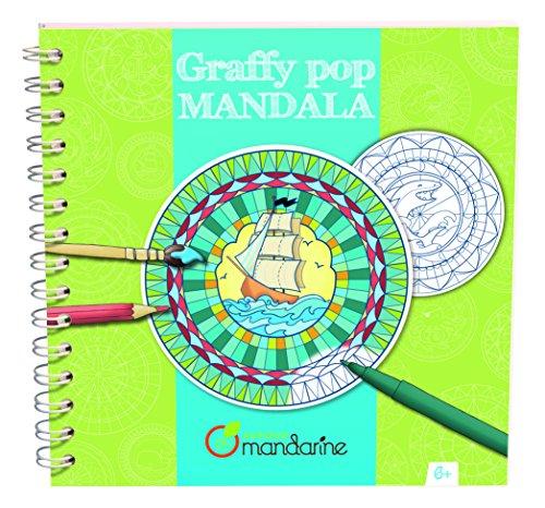 Preisvergleich Produktbild Avenue Mandarine Graffy pop Mandala 52671O Malbuch für Jungen