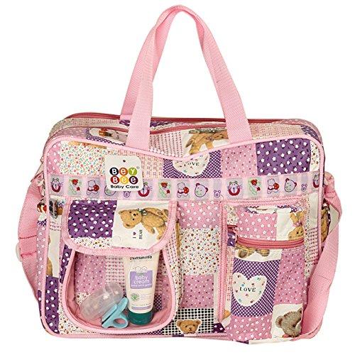 Bey Bee - Mama's Bag {Diaper Bag} (Pink)