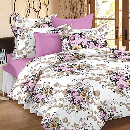 Ahmedabad Cotton Duvet Cover with Zipper - Double Size - 90 x...