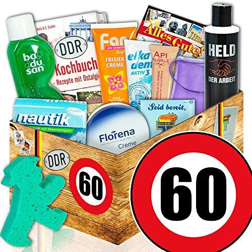 60. Geburtstag - DDR Pflegeset Frauen - lustige Geschenke zum 60