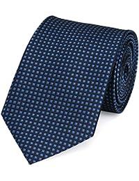 Krawatte blau kariert von Fabio Farini