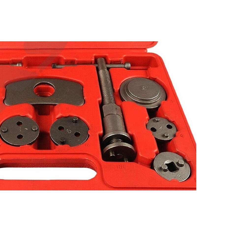 MCTECH 22 tlg. Universal Bremskolbenrücksteller Set Bremssattel Kolben Wind Zurück Tool Kit Bremse Instandsetzung…