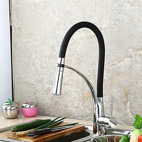 Sdkir-stainless évier robinet robinet mitigeur pour évier de cuisine en acier Home stretch de cuisine robinet