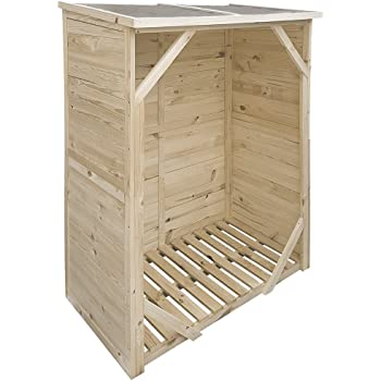 proheim kaminholzregal xxl 162 x 128 x 72 cm ohne r ckwand brennholz regal mit 1 15m volumen. Black Bedroom Furniture Sets. Home Design Ideas