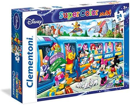 CleHommes toni - 24464.5 - Puzzle Super Super Super Color - 24 pièces - Disney Train B00SRED63Y 8abce5