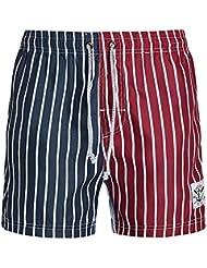 PZLL Tallas grandes de hombre relajado pantalones grandes en el verano y mezcla colores playa pantalones cortos de hombres, vestidos de verano cortos pantalones cortos de hombres , s