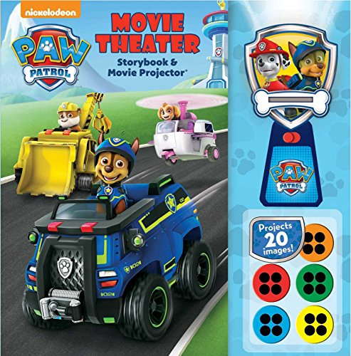 Paw Patrol: Movie Theater Storybook & Movie Projector por Buckley MacKenzie