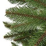 Weihnachtsbaum Künstlich Nordmanntanne.Fairytrees Weihnachtsbaum Künstlich Nordmanntanne Grüner Stamm