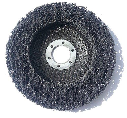Reinigungsscheibe Grobreinigungsscheibe CSD Ø 125mm CBS für Winkelschleifer Clean Strip Disc Nylongewebescheibe