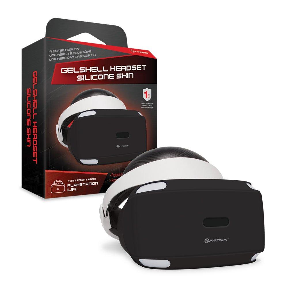 Housse Silicone Gelshell pour PS4 – Casque PSVR – noir