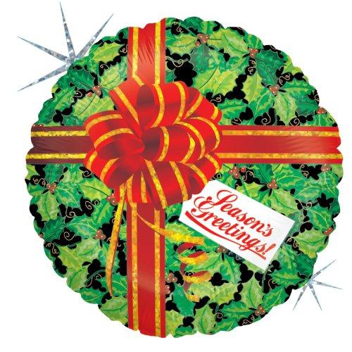 Party-Destination 208209 Weihnachten Holly Day Gru- Folienballon