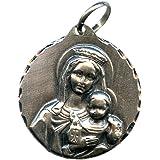 Medalla Virgen del Carmen 25 MM Plata DE Ley
