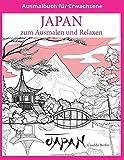 JAPAN zum Ausmalen und Relaxen: Malbuch für Erwachsene - Casilda Berlin