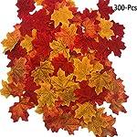 FUJIE 300 Pezzi Artificiali foglie d