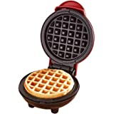Candora Mini Waffle Maker Machine for Individual Waffles, Paninis, Hash Browns, Other on The go Breakfast, Lunch, or Snacks