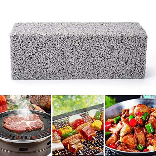 Honsin 3Pcs Griddle Grill Cleaning Brick Magic Stone für die schnelle Reinigung von Grills Grate -