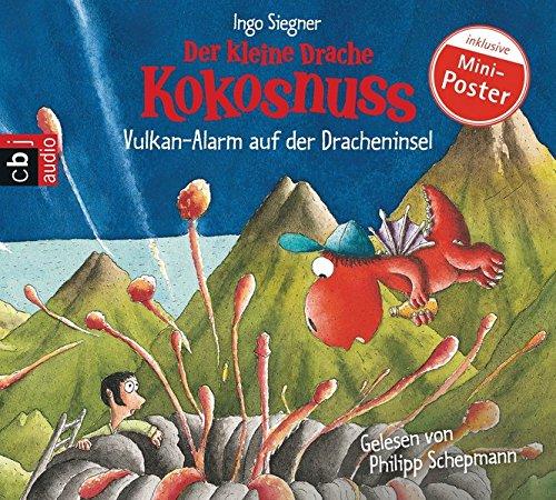Der kleine Drache Kokosnuss - Vulkan-Alarm auf der Dracheninsel (Die Abenteuer des kleinen Drachen Kokosnuss, Band 24) (Auf Cd Hörbücher)