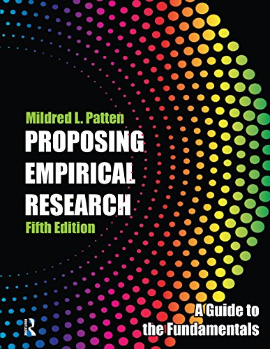 Proposing Empirical Research: A Guide to the Fundamentals (English Edition)