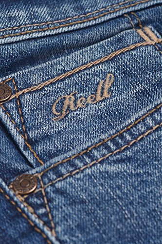 REELL Men Jeans Spider Artikel-Nr.1102-001 - 01-001 mid blue wash