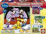 Educa - 15288 - Puzzle Classique - Puzzle Progressif Mickey Mouse