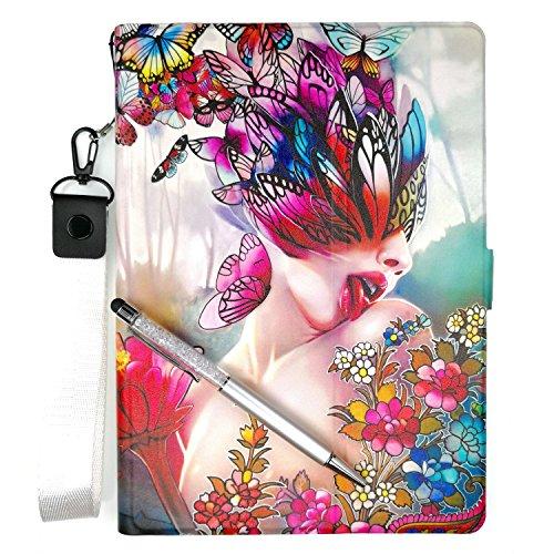 Lovewlb Tablet Hülle Für Kiano Intelect 8 Ms Hülle Ständer Leder Schutzhülle Cover HD