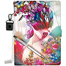Lovewlb Tablet Custodia per Archos Arnova 9 G3 Custodia Pelle Stand Case Cover HD