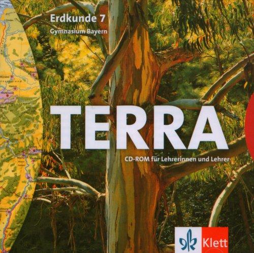 TERRA Erdkunde, Ausgabe Bayern, Gymnasium, Neubearbeitung : 7. Schuljahr, CD-ROM für Lehrerinnen und Lehrer Für Windows 95/98/NT/XP oder MacOS 8.6