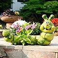 Pflanzgefäß Große Raupe Immersatt von Gärtner Pötschke auf Du und dein Garten