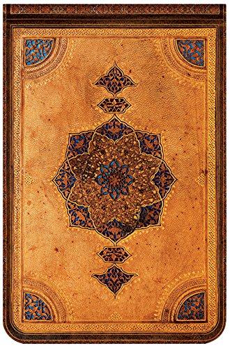 Safawidische Bindekunst - Notizbuch Mini Reporter Karo - Paperblanks