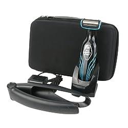 para Philips Series 3000 5000 Afeitadora corporal inal mbrica Body Groomer Pro Almacenamiento Viajar que Lleva Caja Bolsa Funda