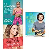 4-week body blitz, everything beauty style fitness life [hardcover] and the fat-loss plan 3 books collection set - transform your body shape with my complete diet and exercise plan, 100 quick and easy recipes with workouts