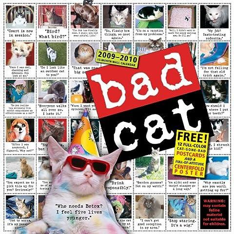 Bad Cat 2010 Calendar