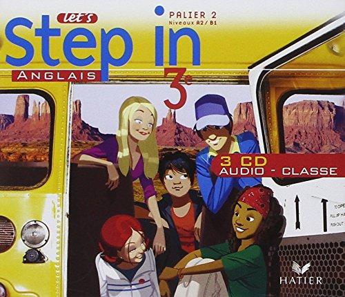 Let'S Step in Anglais 3e - CD Audio Classe, ed. 2009 par Evelyne;Hollinka, Nathalie