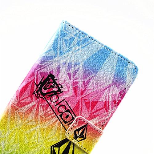 iPhone 6 / 6S Étui Housse, Meet de protection en cuir / Pouch / Case / Holster / Wallet / Case / Portefeuille pour Apple iPhone 6 / 6S étui coque Case Cover smart flip cuir Case à rabat Coque de prote cristal diamant