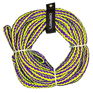 61ebJhCJmcL. SS300  - O'Brien 6 Person Floating Towable Tube Rope, Purple