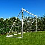 FORZA But de Football PVC Imperméable avec Système de Verrouillage (Large Gamme de Tailles) (4m x 2m)