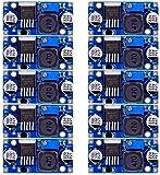 DaoRier LM2596 LM2596S DC-DC Converter 3,0-40V bis 1,5-35V Verstellbarer Stromversorgung Step Down Modul für Arduino, 10 Stück