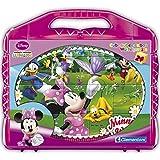24er Würfelpuzzle Disney Minnie, 6 Motive, 26 x 21 cm, ab 3 Jahren: Mouse Bilder Würfel Puzzle Koffer Kinder Puzzel Spaß 24 Teile