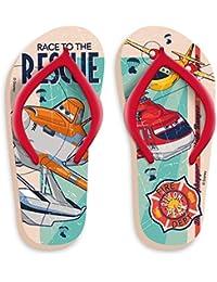 size 40 cdec1 a4fda Disney pixar planes flip flops, colore rosso, giallo, arancione, taglia 23